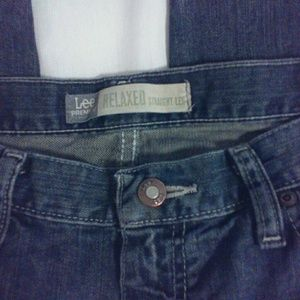 🌺 Lee Premium Select Relaxed Dirty Wash Jeans EUC